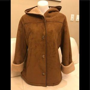 Jessica faux suede Coat